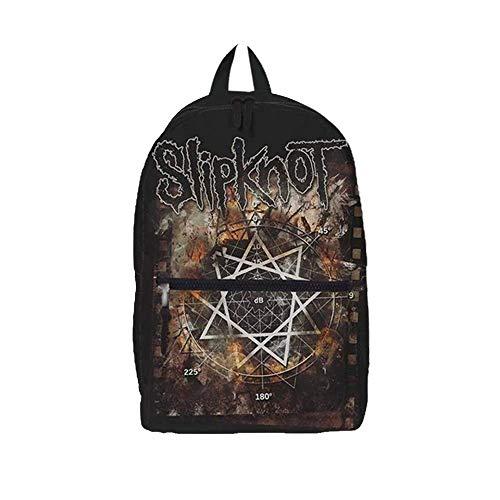 Slipknot Slipknot Pentagram Classic Rucksack, Medium, Black