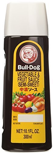 Bull-Dog - Vegetable & Fruit Sauce (Chuno) Sauce 10.1 Fl. Oz. by Bulldog