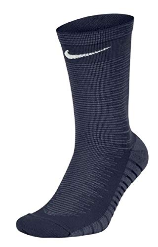 Nike U Nk Squad Crew Calcetines, Unisex Adulto, Multicolor (College Navy/Thunder Blue/White), XS