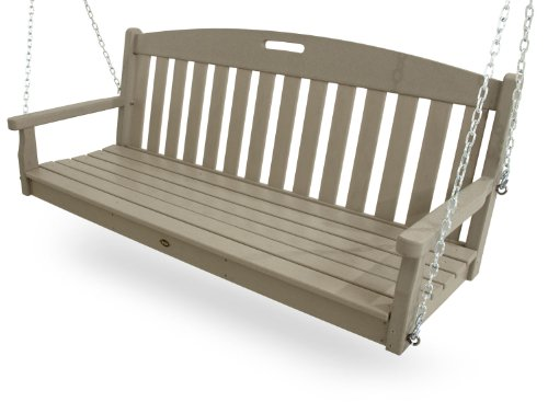 Trex Outdoor Furniture Yacht Club Swing, Sand Castle