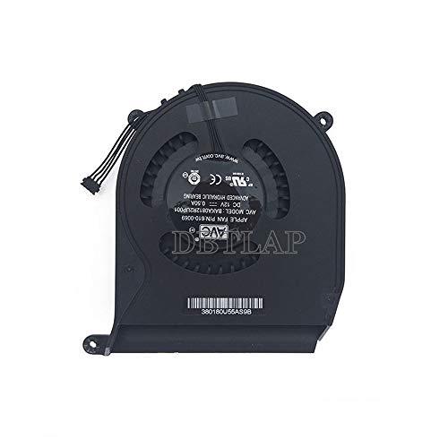 DBTLAP Nuevo CPU Ventilador para Apple Mac Mini A1347 EMC 2442 Mid 2011 MC270 MC438 MC815 MC816 CPU Ventilador Cooler 610-0069 BAKA0812R2UP001