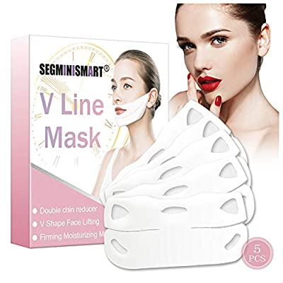 V Line Mask,V Face Masks,Chin Up Patch,Contour Lifting Firming Moisturizing Mask,V-shape Facial Moisturizing Firming Mask