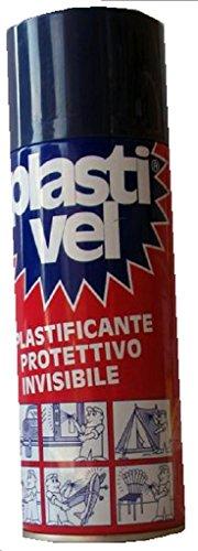 PLASTIVEL PLASTIFICANTE SPRAY- 400ML - IMPERMEABILIZZANTE PLASTICANTE PROTETTIVO