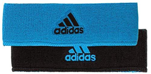 adidas Interval Reversible Headband, Solar Blue/Black, One Size