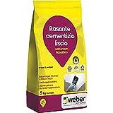 webercem RasaZero Rasante a finitura extra liscia per interni, bianco, 5 kg...