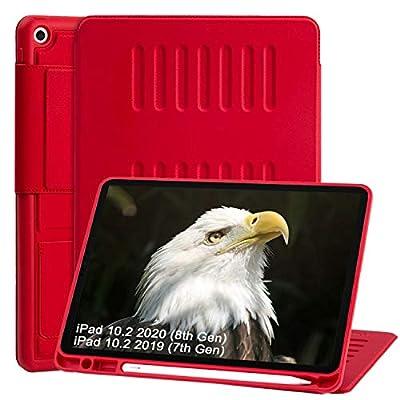 TSOMEI CASE - 2020 iPad 10.2 Case (8th Gen) 201...