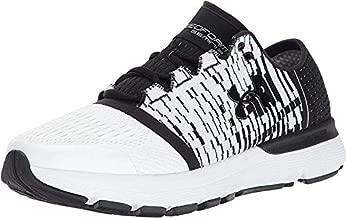 Under Armour Men's Speedform Gemini 3 Graphic Running Shoe, White (101)/Black, 12