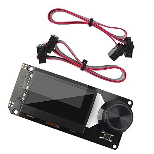 IPOTCH 1 Pieza Mini 12864 V1.0 Pantalla LCD Pantalla de Cristal Panel de Monitor gráfico para impresoras 3D Accesorios LCD
