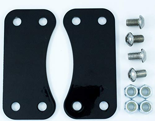 "Fender Risers/Lift Brackets for 21"" Wheel Upgrade on 2014 and Newer Touring Harley Davidson"