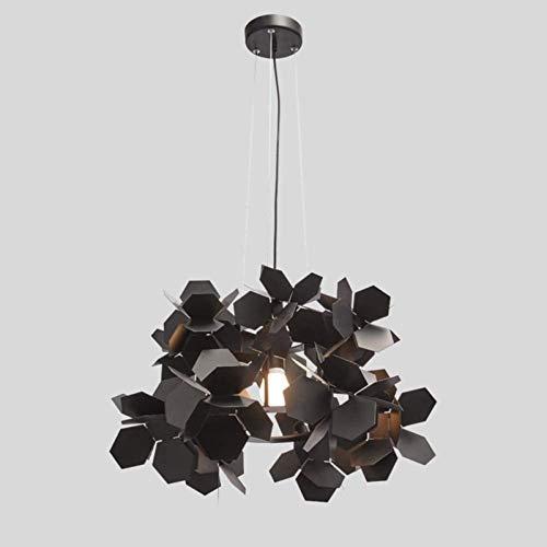 Las luces LED se iluminan 60 * italiana artística cafetería individualidad estilista posmoderna 36,5 cm sencilla techo de la iluminación decorativa ropa interior Modelo Lustre