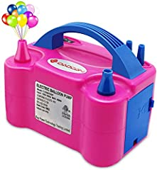 Light Weight and Portable design. Easily create a warm atmosphere.This balloon inflator commonly used in some activities/festive/party/celebration/decoration. Size: 20 x 15 x 13 (cm). Type: manual, automatic one. Pressure: 18000pa-22000pa, 1.75psi. I...