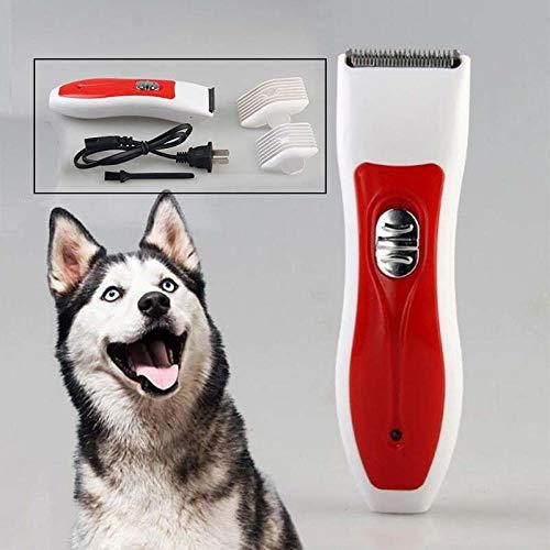 Elektrische grasmaaier voor huisdieren, professioneel scheerapparaat voor honden, zonder huisdieren, oplaadbaar, 220 V, voor katten, honden, vachtverzorging, elektrisch scheerapparaat