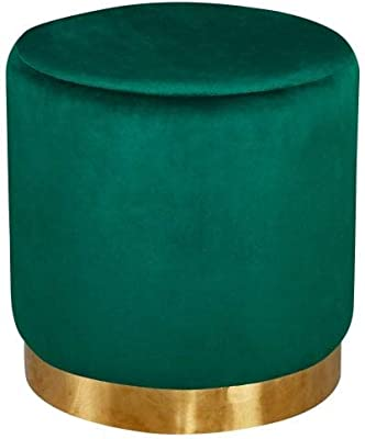 Terrific Hodge And Hodge Sophia Footstool Pouffe Footrest Velvet Home Theyellowbook Wood Chair Design Ideas Theyellowbookinfo