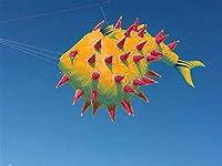 大人のための大きな凧吹きのための柔らかいリップストップ 楽しくてシンプル