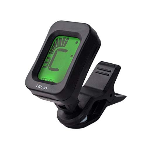 Portátil con Clip del sintonizador Pantalla LCD Digital eléctrico Clip acústica afinador...