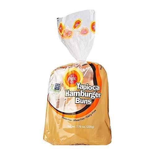 ENER G FOODS Tapioca Burger Buns, 7.76 OZ