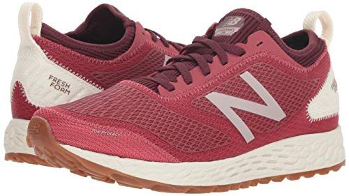 New Balance Women's Gobi V3 Fresh Foam Trail Running Shoe, Earth red/sea Salt/Gum, 5 D US