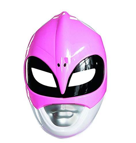 Disguise Máscara Power Rangers Mighty Morphin Rosa