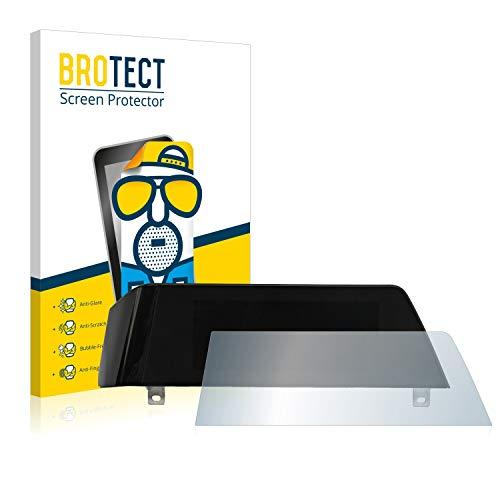 BROTECT Entspiegelungs-Schutzfolie kompatibel mit BMW 3 G21 2020 Infotainment System (Trapez) Bildschirmschutz-Folie Matt, Anti-Reflex, Anti-Fingerprint