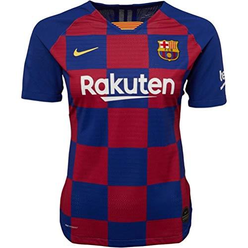 Nike Damen FCB W Nk Vapor Mtch JSY Ss Hm Unterhemd, tiefes Königsblau/Varsity-Mais, L