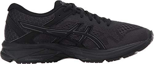 ASICS GT-1000 6 Women's Running Shoe, Black/Black/Silver, 8.5 M US