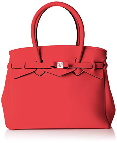 Save My Bag Damen Miss Plus Schultertasche, Rot (ANGURIA AGR), 34x29x18 cm
