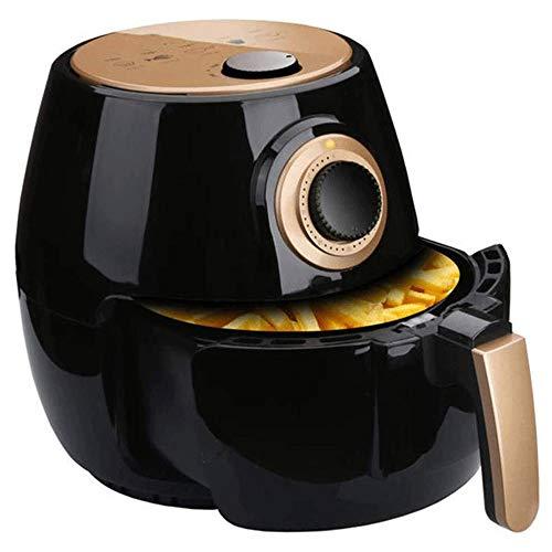 WCJ Aire freidora casera Inteligente sin Aceite Fries sin Humo de la máquina de Gran Capacidad Doble Pot asado Diseño/Hornear/Mantener Caliente, Apto for lavavajillas