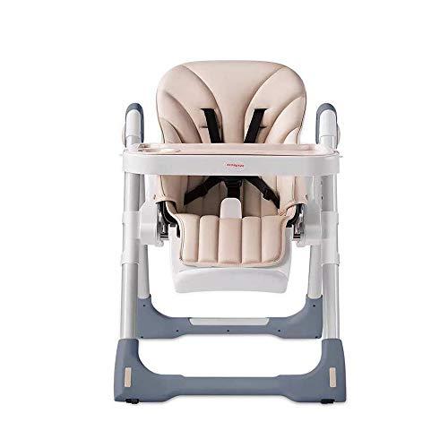 Liuxiaomiao Baby Hoge stoel Moderne Baby Kinderstoel Oplossing Hoge Stoel Peuters 3 In 1 Cabriolet Voor Baby's En Baby's Met Kussen Voor Eettafel