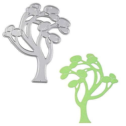 OOTSR Tree Shape Die Cuts for Card Making, Metal Cutting Die Cuts, Craft Paper Die Cuts, Scrapbooking Die Cut for Paper Card Making, Photo Album Decorations