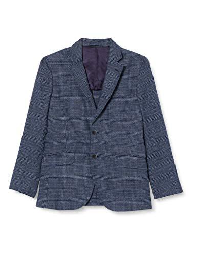 Hackett Herren Brushed Cott Blue Chk Sakko, (Blau), 38W