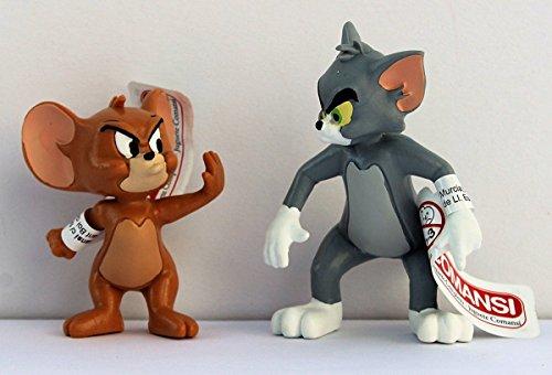 Spielset Tom & Jerry streitend - Größe ca. 5,5 - 7,0 cm