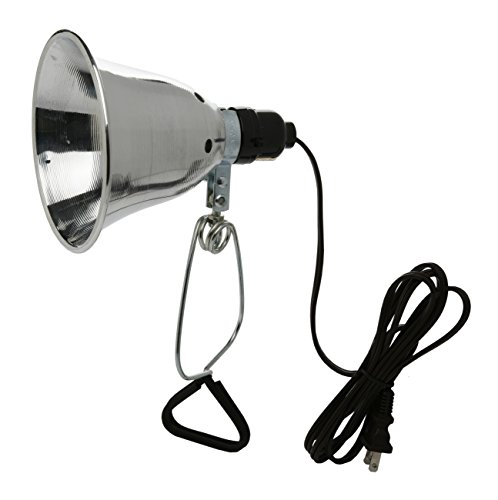 Woods 0160 18/2 SPT-2 Clamp Lamp with 5.5 Inch Reflector, 60 Watt, 6 Foot Cord