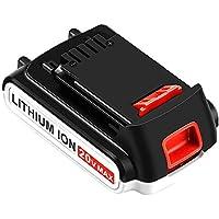 Moticett LBXR20 3000mAh Replacement Battery for Black and Decker 20V Max Lithium LB20 LBX20 LBXR2020-OPE LBXR20B-2 LB2X4020 LST220 Cordless Tool Battery