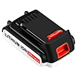 LBXR20 3000mAh Replacement Battery for Black and Decker 20V Max Lithium LB20 LBX20 LBXR2020-OPE LBXR20B-2 LB2X4020 LST220 Cordless Tool Battery