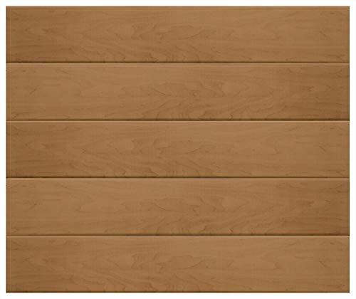 Paneles de techo de 1 m² | vetas de madera marrón | poliestireno extruido | decoración interior | Paneles decorativos | XPS | Hexim | 100 x 16,7 cm | P-04