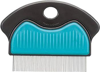 Trixie 23761 Peigne anti-puces et anti-poussière en métal 7 cm