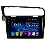 TAFFIO 10,1' Android 9.0 Touchscreen Navigation GPS Autoradio USB 4GB RAM + 32GB ROM für Volkswagen Golf7 MK7