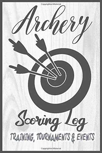 Archery Scoring Log Training, Tournaments and Events: Professional and junior shooters scorepad sheets with target area to log your scoring. Scorebook ... BowHunting. Recurve and compound disciplines.