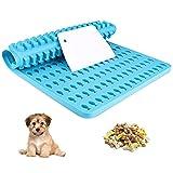 Chilymes Silikon Backmatte (2cm) Hundekekse,Pet Backform mit Schaber für...