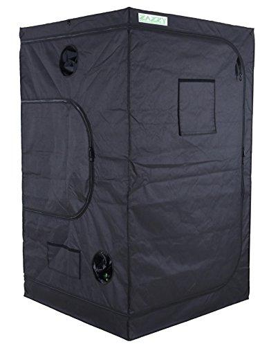 "Zazzy 48""x48""x78"" Plant Growing Tents 600D Mylar Hydroponic Indoor Grow Tent"
