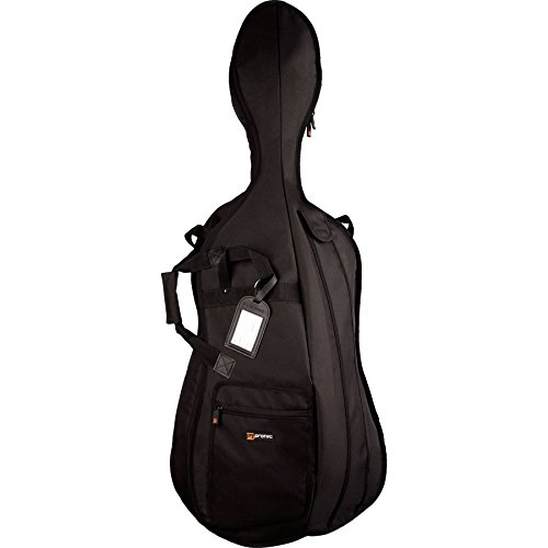 Protec 4/4 Cello Gig Bag - Silver Series, Model # C310E