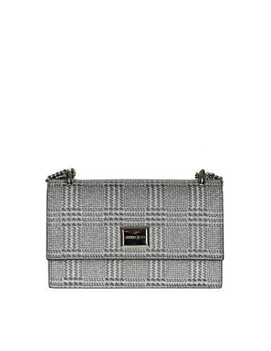 Jimmy Choo Luxury Fashion Donna LENIPGW Grigio Borsa A Spalla   Primavera Estate 19