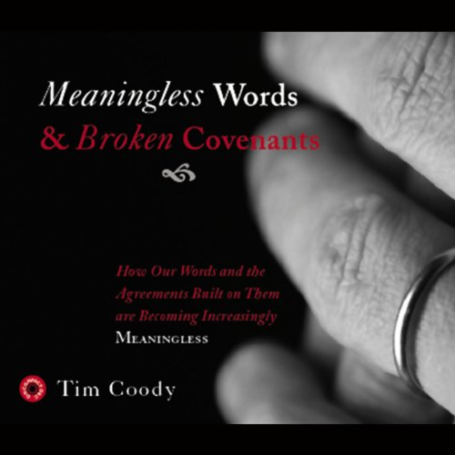 Meaningless Words and Broken Covenants audiobook cover art