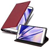 Cadorabo Funda Libro para Huawei P8 en Rojo Manzana - Cubierta Proteccíon con Cierre Magnético, Tarjetero y Función de Suporte - Etui Case Cover Carcasa