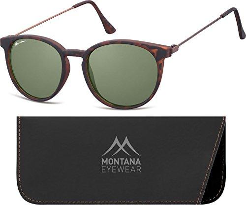 Montana Eyewear Sunoptic S33D Sonnenbrille in havanna, inklusive Softetui