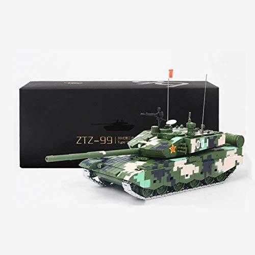 ZHANG Carro de Control Remoto, Coche de Control Remoto para Niños 1:50 Mini German Tiger Panzer RC Tank Crawlers Chariot con Control Remoto,Green