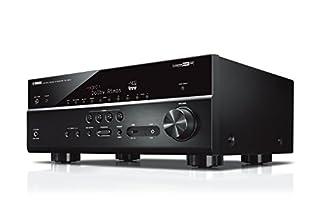 Sintoampflicatore Yamaha con 7 potenti canali surround, compatto ed elegante, basato sul sistema multiroom MusicCast che consente di ascoltare la musica liberamente in ogni ambiente della casa Supporto Dolby Atmos e DTS:X per un suono surround multid...