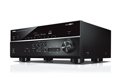 Yamaha RX-V685 MC AV-Receiver (Netzwerk-Receiver mit außergewöhnlichem 7.2 Music Cast Surround-Sound - das Allround-Talent im Heimkino-System – Alexa Sprachsteuerung) schwarz