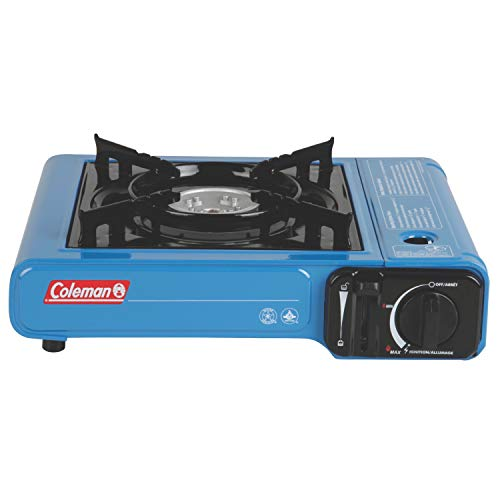 41Dyla6bF1L - Coleman Portable Butane Stove with Carrying Case