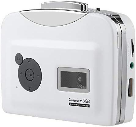 Tangxi Cassette Player Portable Tape Player Captures MP3 Audio Music via USB Converter Recorder product image